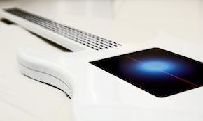 Touchscreen Gitaar zonder snaren