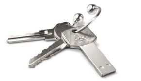 USB in Sleutelformaat