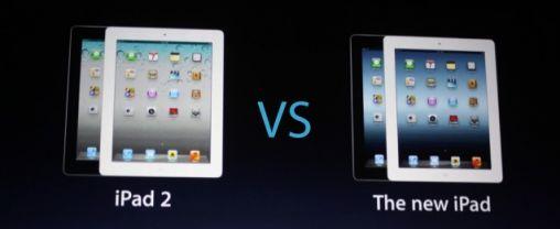 Verschillen Nieuwe iPad vs iPad 2