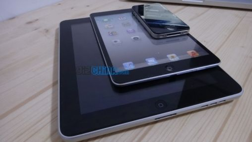 Video van iPad mini dummy