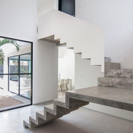 5x meest stijlvolle trappen - Model interieur trap ...