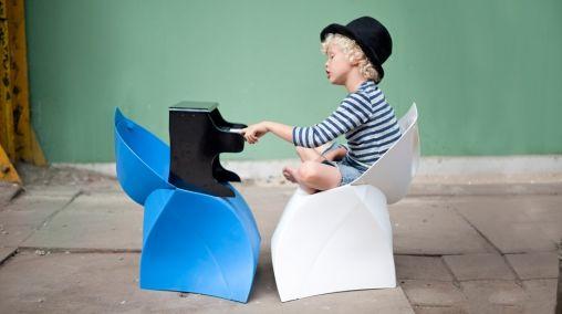 Vouw je eigen Kids Design stoel