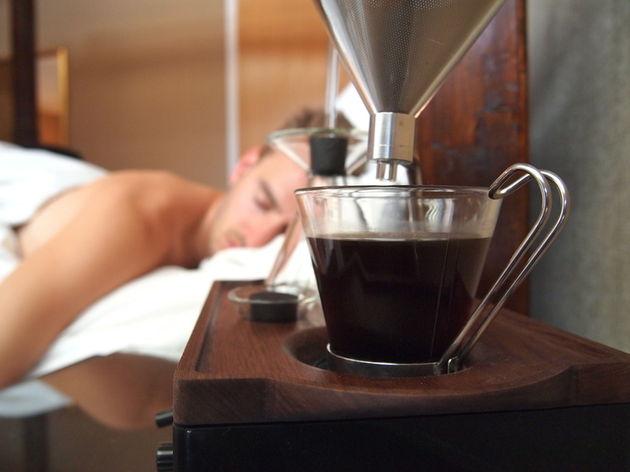 wekker-koffiezetter
