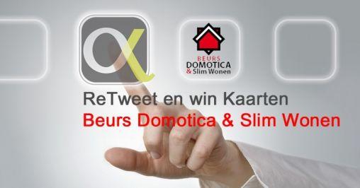 Win gratis kaarten voor beurs Domotica & Slim Wonen van Alpha-X