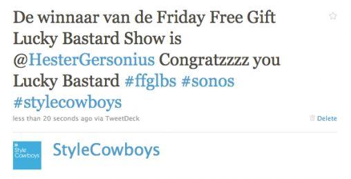 Winnaar FFGLBS