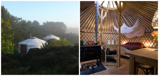 yurt suites texel
