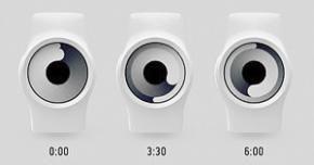 Zero-watch-concept: minimalistisch