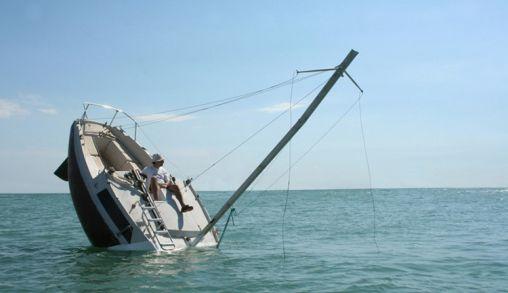 Zinkende Boot of toch Niet!!