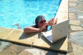 Zorgeloos en onbeperkt internetten op je vakantieadres