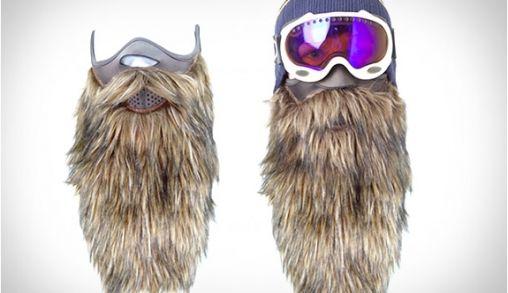 ZZ Top look-alike Skimasker (ook geschikt voor Carnaval)