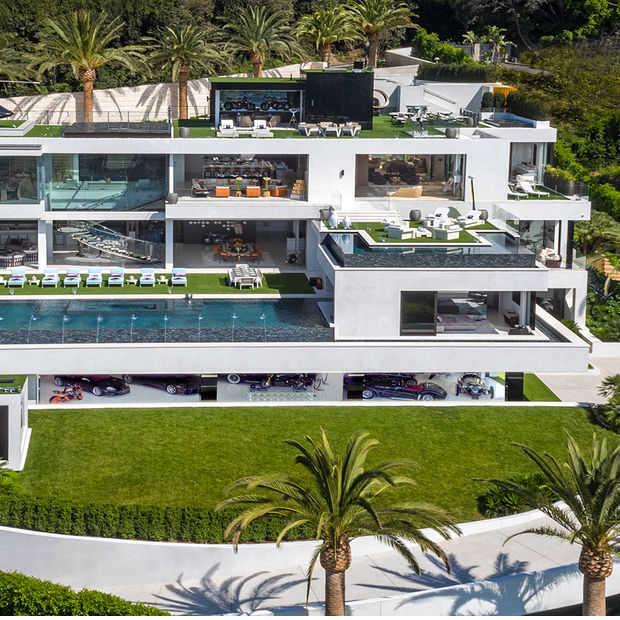 Hebben: luxe villa van 250 miljoen in Bel Air heeft álles