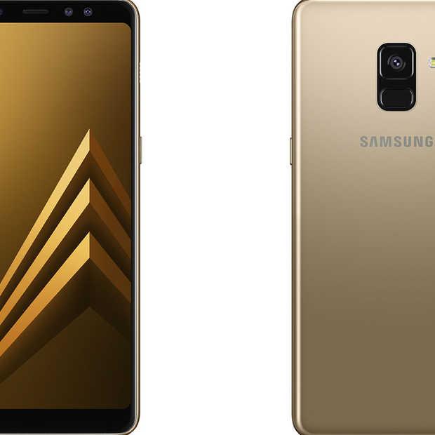 De Samsung Galaxy A8 is vanaf 8 januari 2018 verkrijgbaar