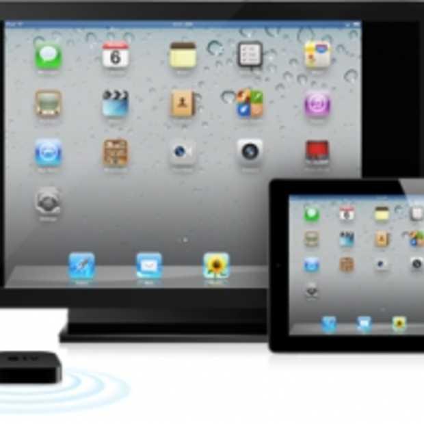 Airplay Mirroring brengt volledig scherm van iPad 2 naar TV