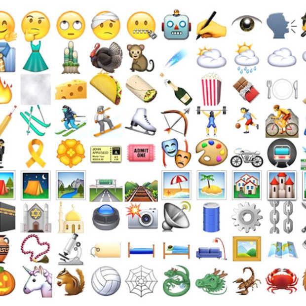 Een lijstje van de nieuwe Emoji in iOS 9.1