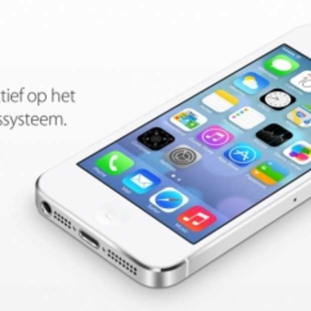 Apple iOS 7 op 18 september