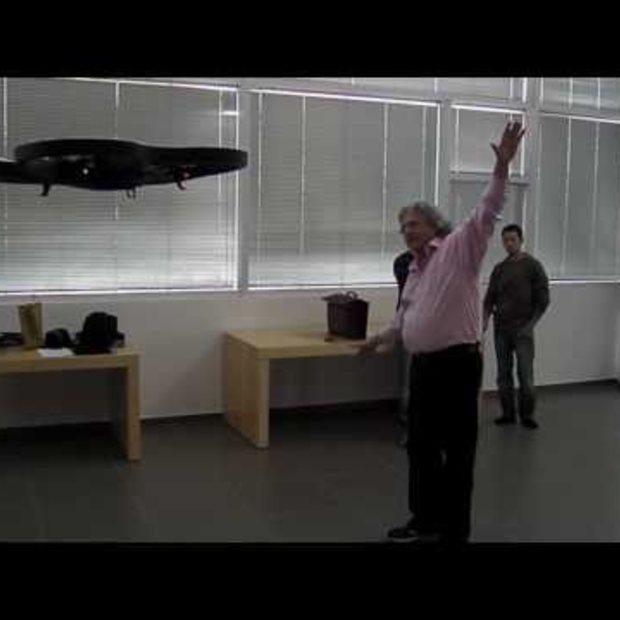 AR Drone + Kinect