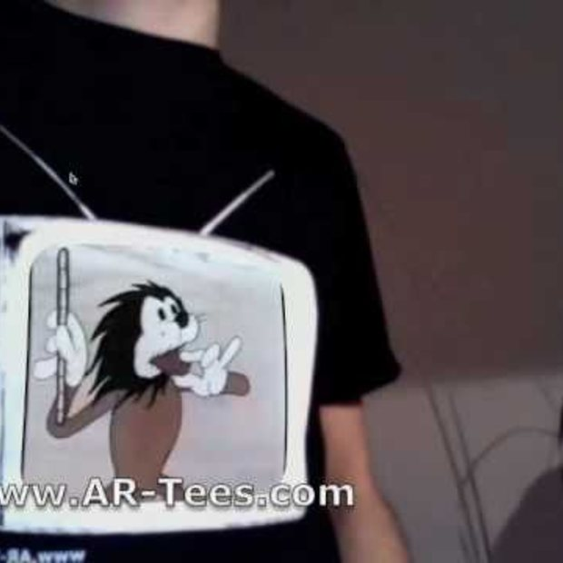 AR-Tees first augmented reality tv-shirt