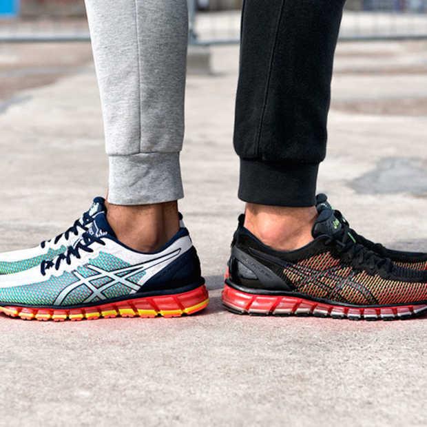 Deze ASICS sneakers veranderen van kleur als je loopt!
