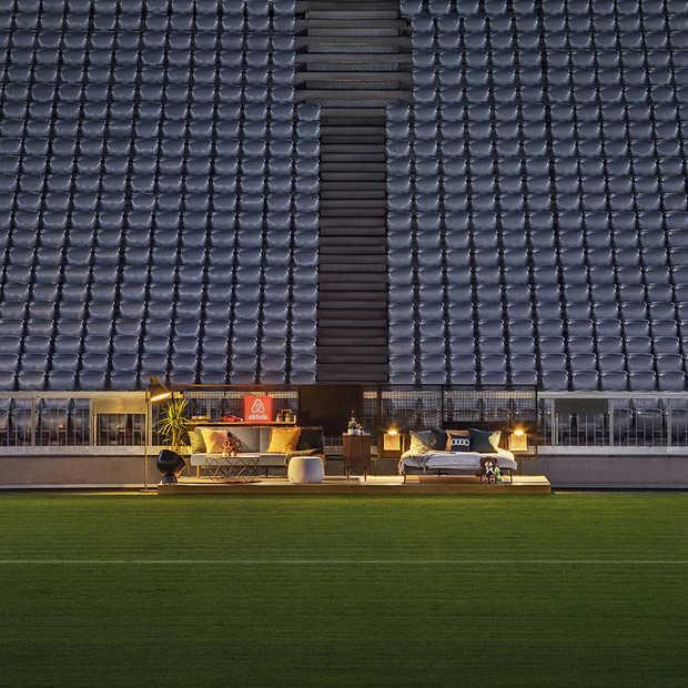Slapen in de Allianz Arena met Audi en Airbnb