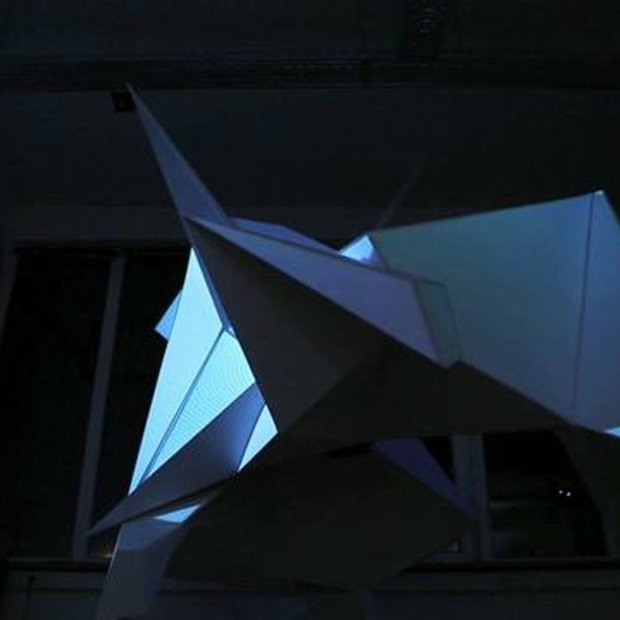 Lichtfront's Augmented Light Sculpture