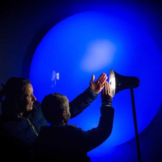 Aura: interactieve lichtvorm die reageert op beweging en geluid