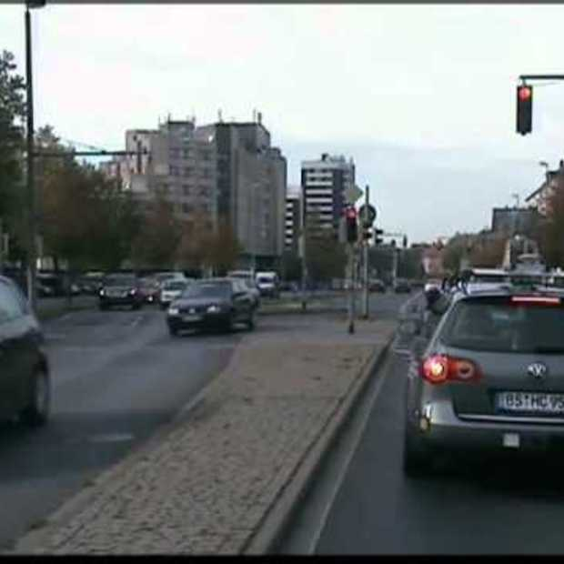 Autonomous Car Driving through heavy City Traffic