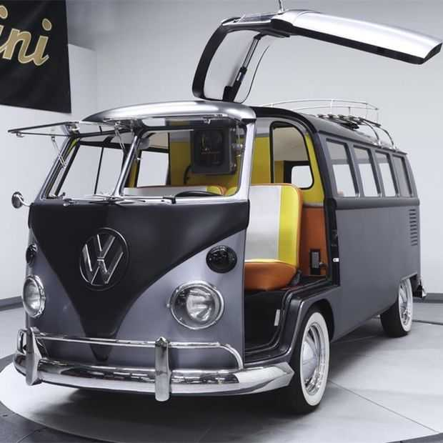 Deze 'Back to the Future' Volkswagenbus is pure sci-fi