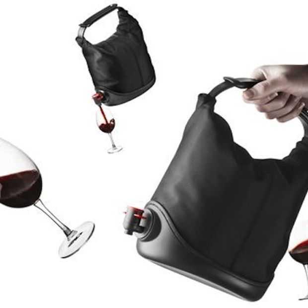 Baggy Winecoat: dé tas voor wijnen