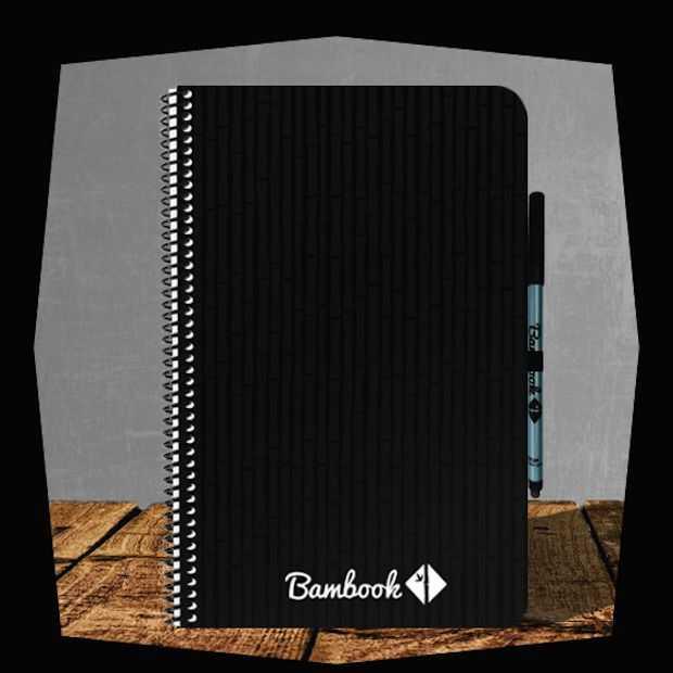 Bambook is een uitwisbaar schrift dat ook nog eens duurzaam is!