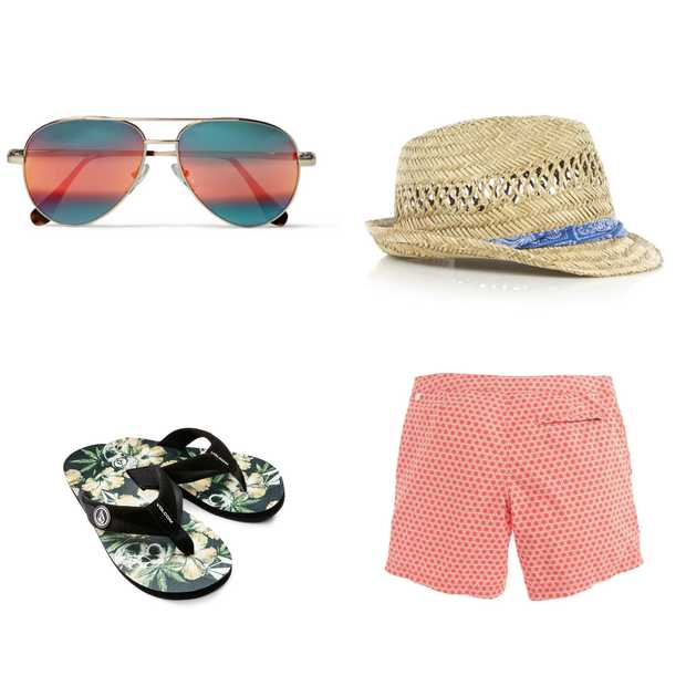 5 beach essentials voor mannen