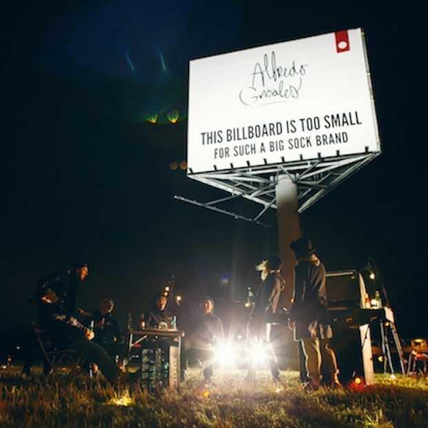 15 minutes of fame op MEGA billboard langs de A2, A16 en A13 dankzij Alfredo Gonzales