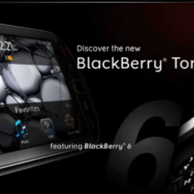 BlackBerry introduceert de 9800 Torch