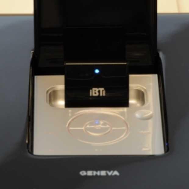 Bluetooth aanvulling voor Geneva Sound Systems voor iPhone 5