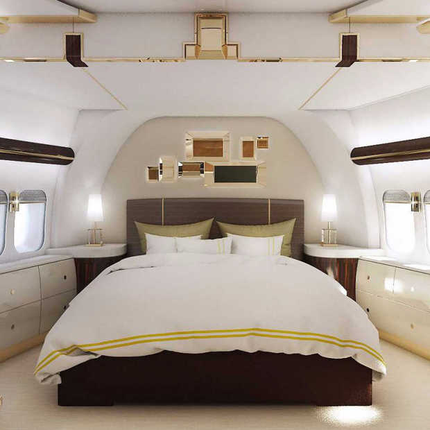 De Boeing 747 VIP Version is next level luxe