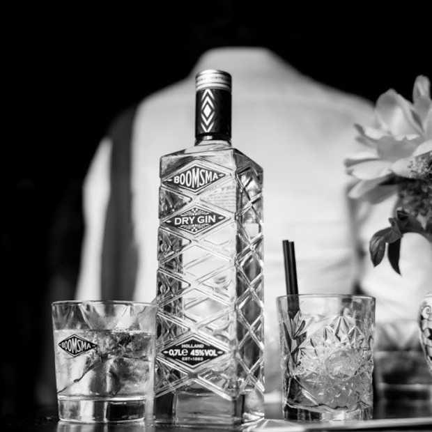 Nederlandse Boomsma Dry Gin ontvangt design award