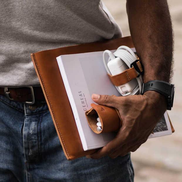 Stijlvolle lederen accessoires voor je gadgets