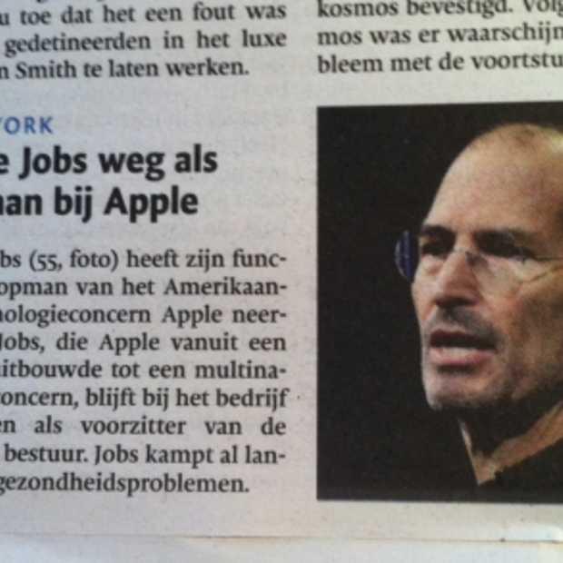 Brief van Steve Jobs