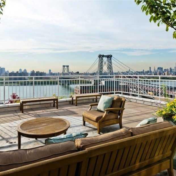Loft-Like Penthouse met geweldig uitzicht over Brooklyn