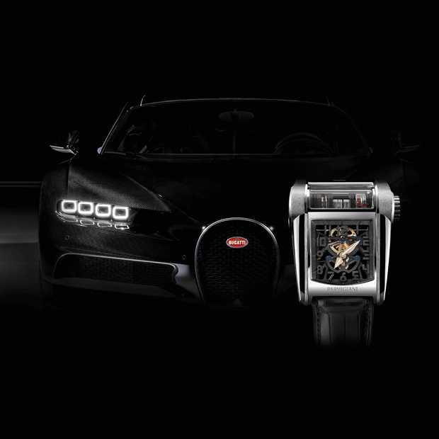 Een motorblok voor om de pols: Bugatti Type 390
