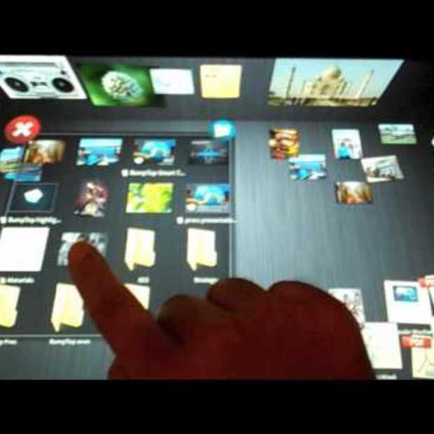BumpTop 3D Multi-touch Desktop