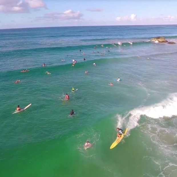 Heerlijke drone-video van Byron Bay!
