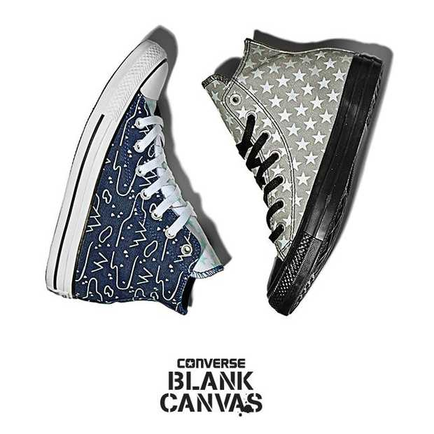 Customize je Converse met Blank Canvas
