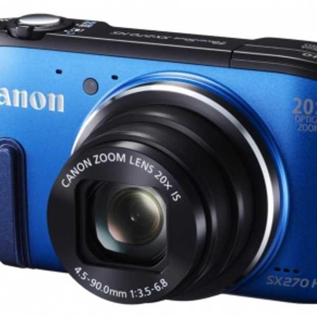 Canon introduceert 4 nieuwe fotocamera's