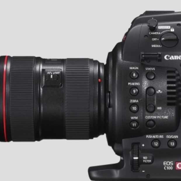 Canon lanceert de EOS C100