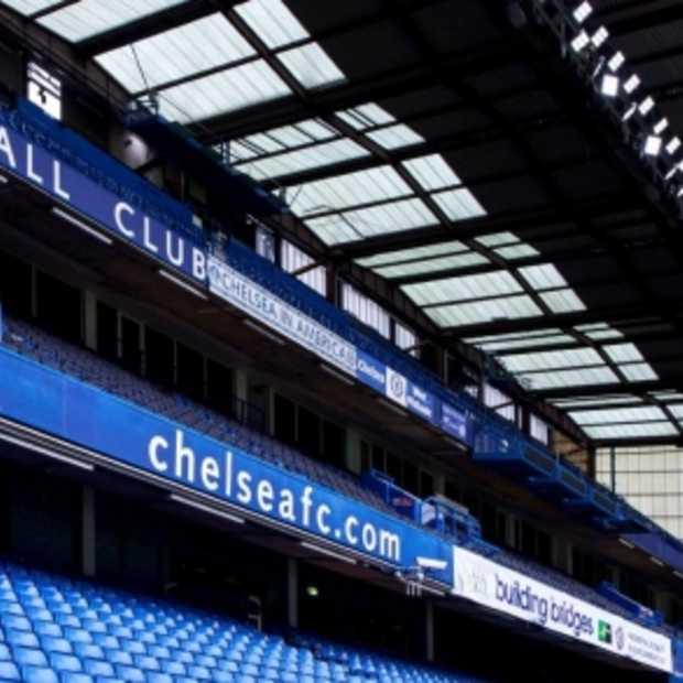 Chelsea eerste champions league club met stadion voorzien van innovatieve LED-veldverlichting