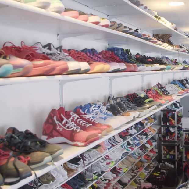 Video: Chris Brown's sneakerkasten zijn groter dan je huis