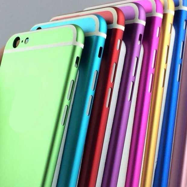 iPhone 6S krijgt alle kleuren van de regenboog?