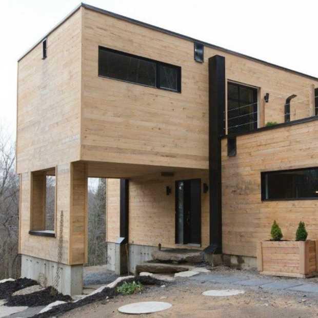 Dit gave huis is gemaakt van containers