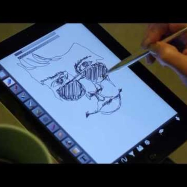 Create on Your Tablet Like Pen on Paper - GoSmart Stylus