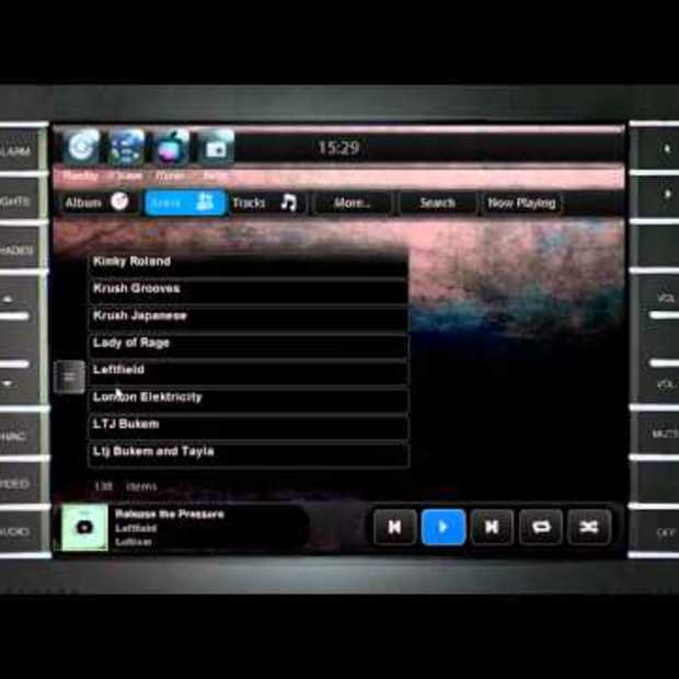 Crestron & Apple iTunes Integration Video